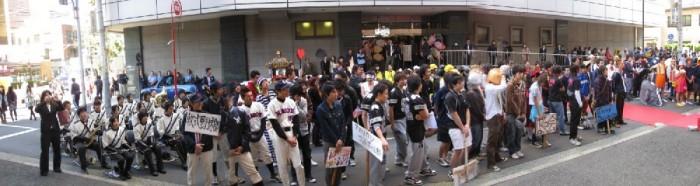 経済学部三崎祭 開会式