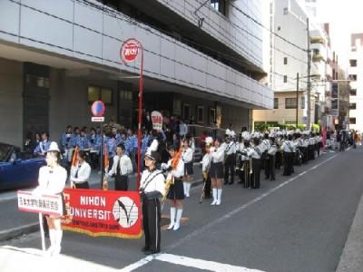 経済学部三崎祭・法学部部法櫻祭 合同パレード
