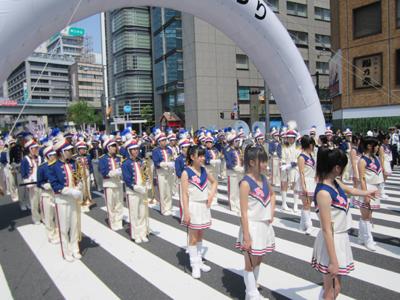 日本大学櫻丘高校(バトン・バンド・ガードの順)